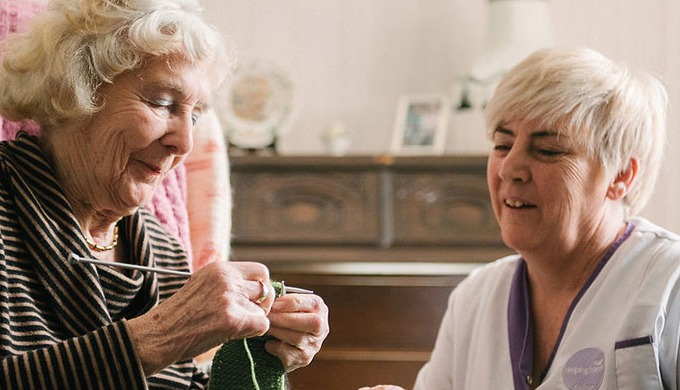 CQC accredited home care from Helping Hands gives you the freedom and choice of doing what you want ...