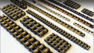 Řetězy pro průmysl a automobily