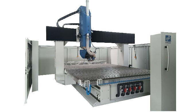 What makes this machine truly stand out among other similar designs on the market in that the portal...