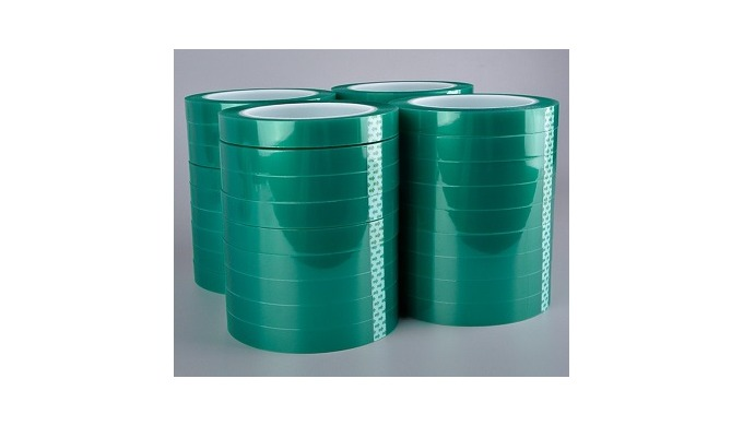 PET tapes are specified for electrical insulating applications requiring a thin, durable tape with h...