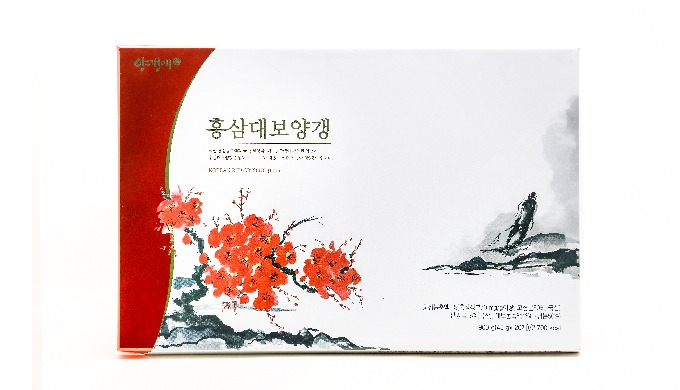 Yanggaengae Red ginseng bean jelly set