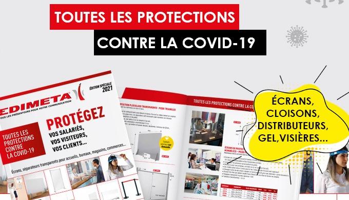 NOUVEAU CATALOGUE : TOUTES LES PROTECTIONS CONTRE LA COVID-19