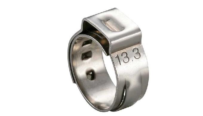 耳夾是 suitable for fast and safe connection of pipes, and it makes the pipes for uniform surface compr...