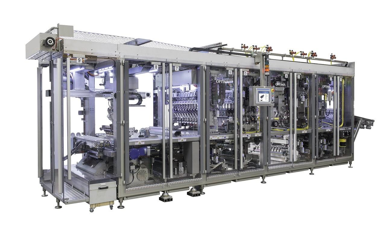 Füll- und Verschließmaschine OPTIMA CFL-40
