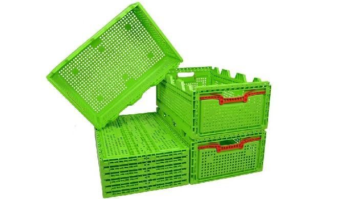 Lazi pliabile din plastic alimentar