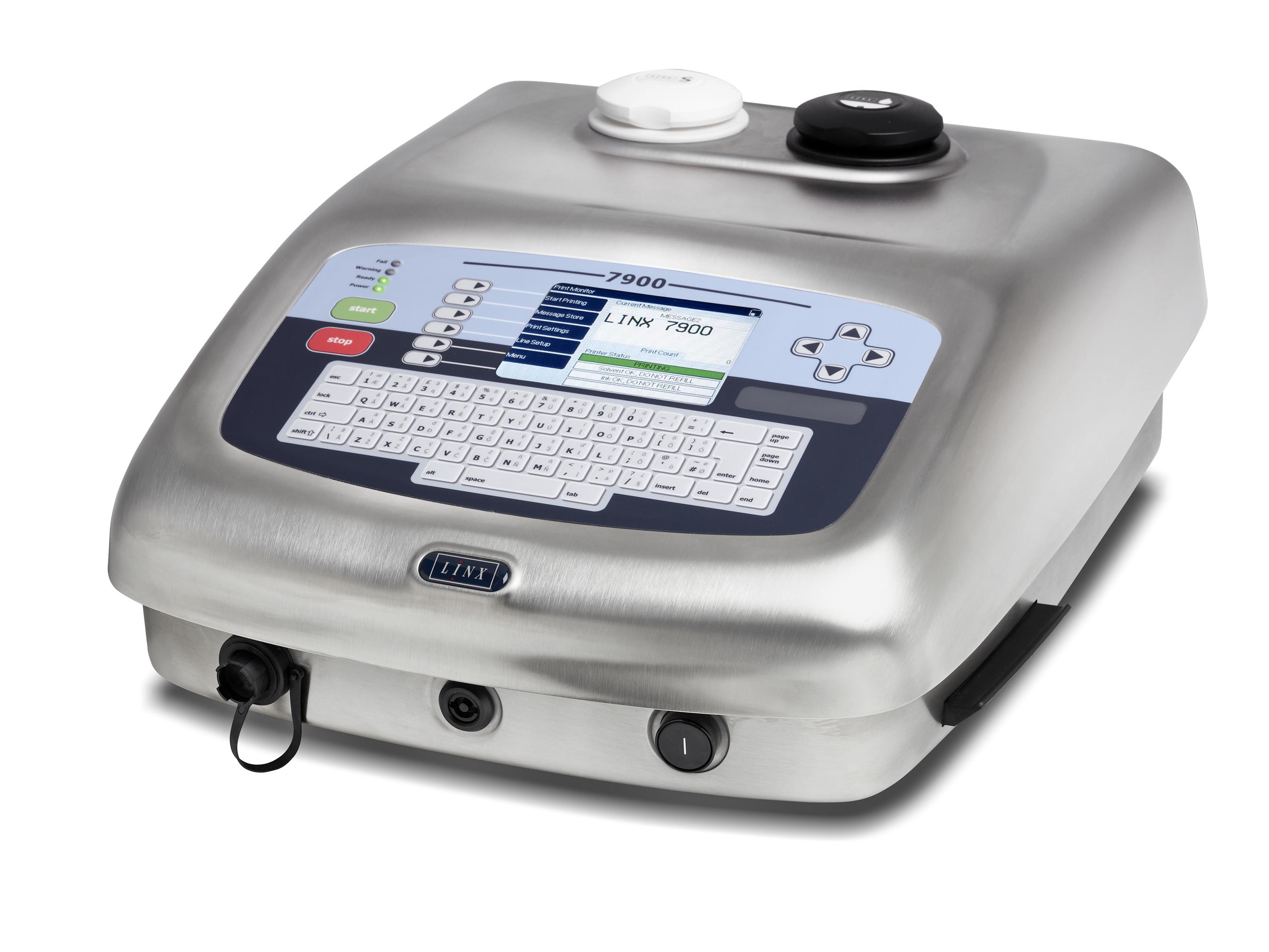 Inkjet printer: LINX7900