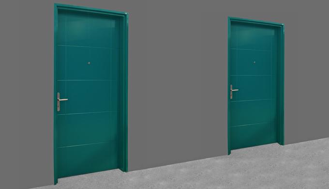 Portes palières Isoblindé 39 Porte Isoblindé 39 EI30 et avec affaiblissement acoustique Rw 40 (-1;-3...