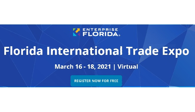 The Florida International Trade Show begins on March 16, 2021.