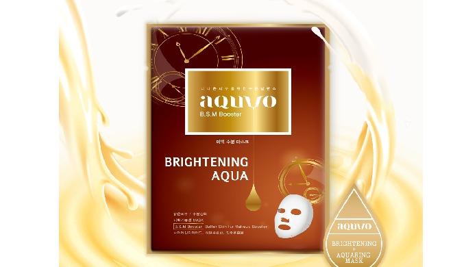 Täydellinen ihonaamari BRIGHTENING AQUA I luonnostaan valmistettu ampulli