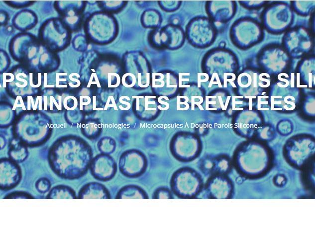 Microcapsules technologies vous propose la technologie de la double paroi silicone et aminoplastes :...
