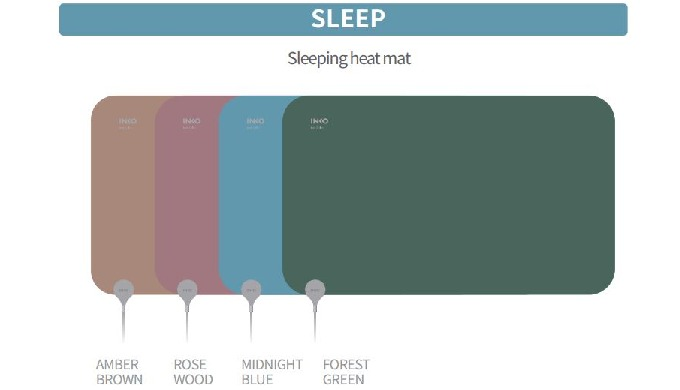 INKO Smart Heating Mat SLEEP PLUS (Suede)