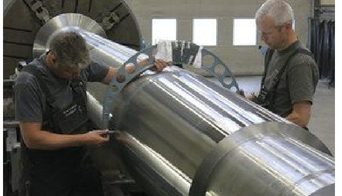 MarineShaft, Manufacturing of shafts