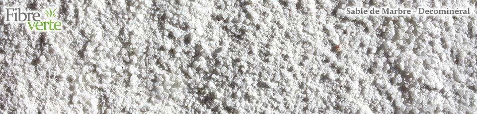 Le sable de marbre convient particulièrement pour la décoration des massifs, rocaille ainsi que pour...