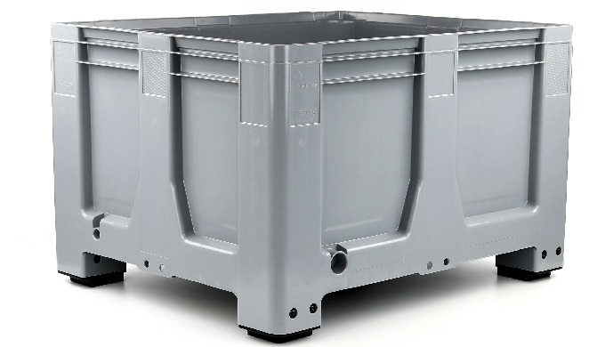 Cassa pallet nei formati 1200x1000 mm e 1200x800 mm resistente e disponibile in diversi formati: par...