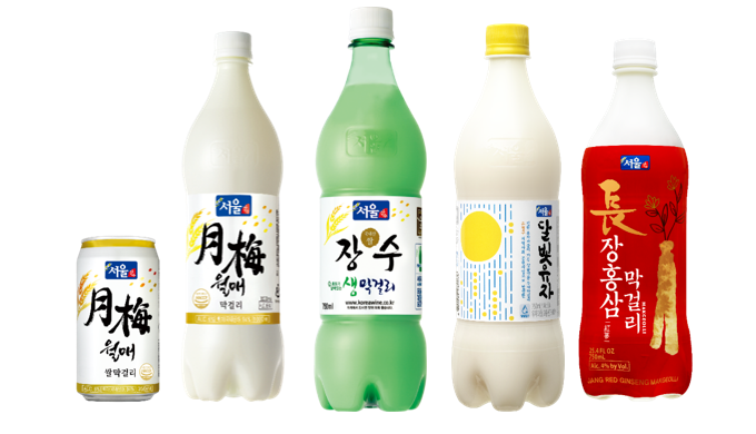 Seoul Jangsoo's Makgeolli has already been exported to over 30 countries around the world, As the be...