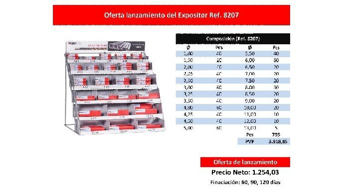 NUEVO EXPOSITOR 8207