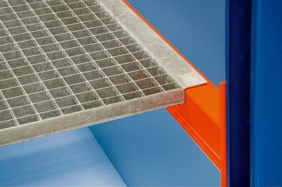 Gitterrostboden, Trägerlänge 2700 mmDie angegebenen Traglasten sind immer im Zusammenhang mit den ma...