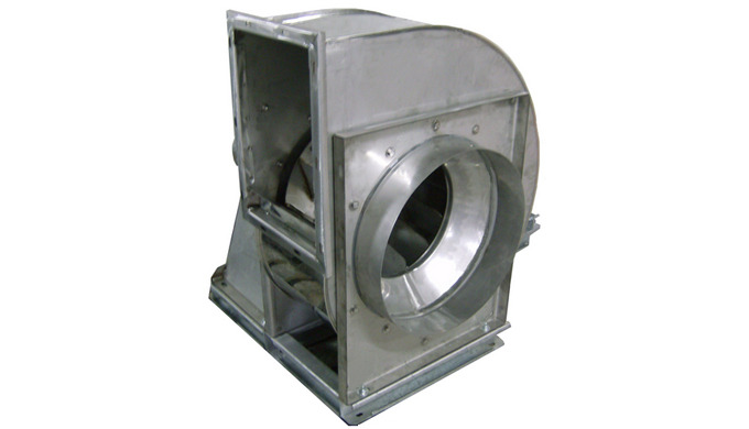 SINGLE INLET INOX WITH SEMI-BACKWARD IMPELLERS Features:Fan casings and impeller are from stainless ...