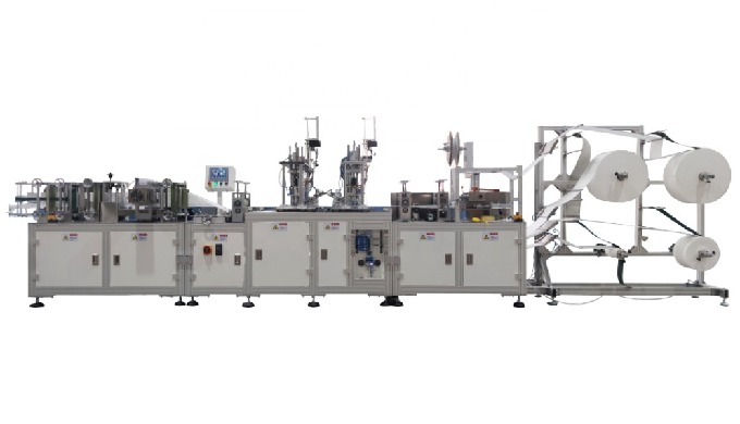 N95 Face Mask Making Machine, Fully Automatic KN95 N95 Mask Machine, N95 Mask Production Line