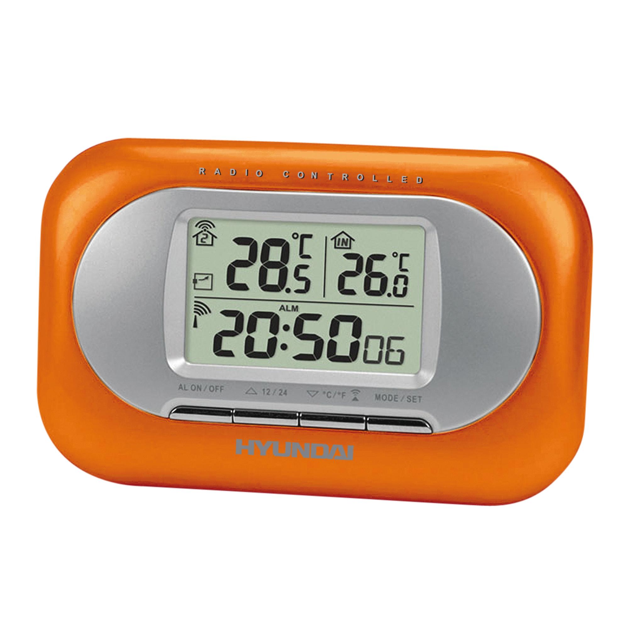 Základem přesného času zobrazeného na displeji meteorologické stanice Hyundai WSC 1925O je přijímač ...