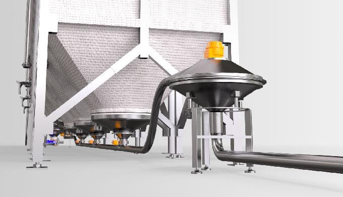 Trasporto pneumatico di prodotti in polvere e granulari, in aspirazione o compressione a bassa press...