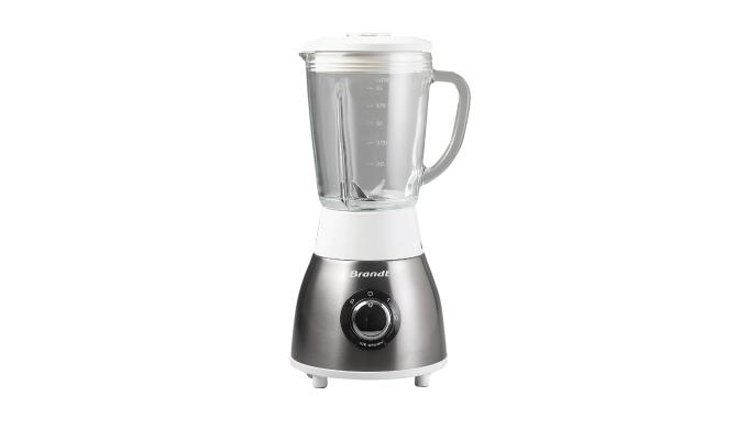 Image01 : BlenderBLE615EG - Inox - Bol en verre de 1,5 L - Bol gradué d'une capacité de 1.5 L - 2 ni...