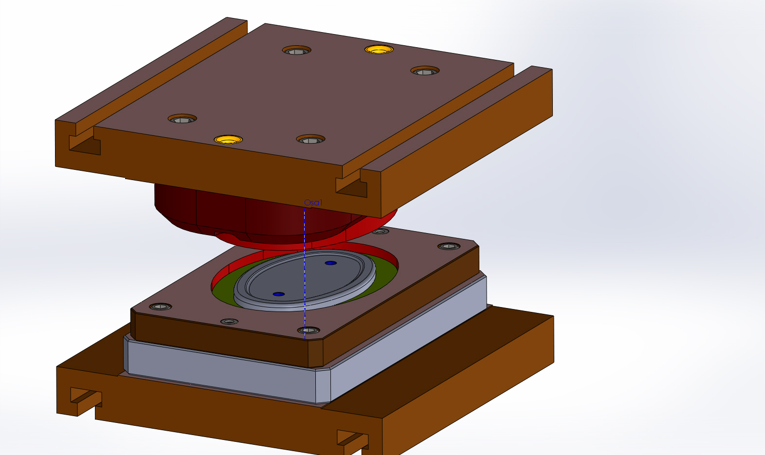 výroba a konstrukce lisovacích nástrojů