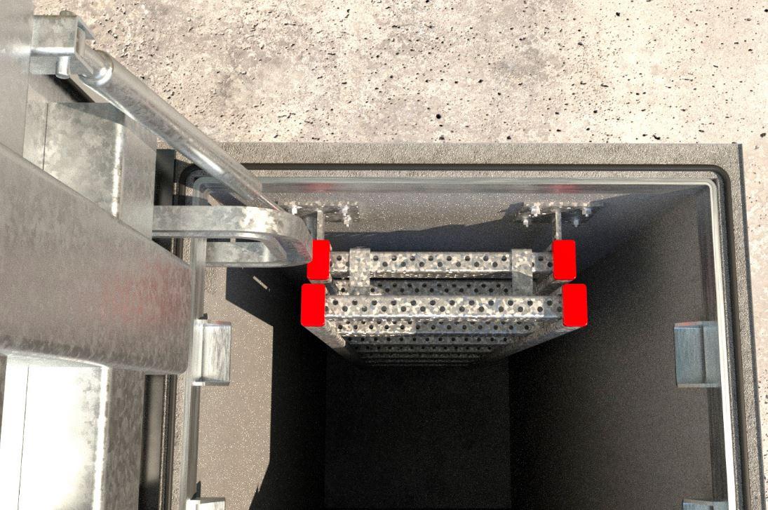 Le Goujon FBN II 8/5 BP K en acier électrozingué est une cheville métallique à fixation économique p...