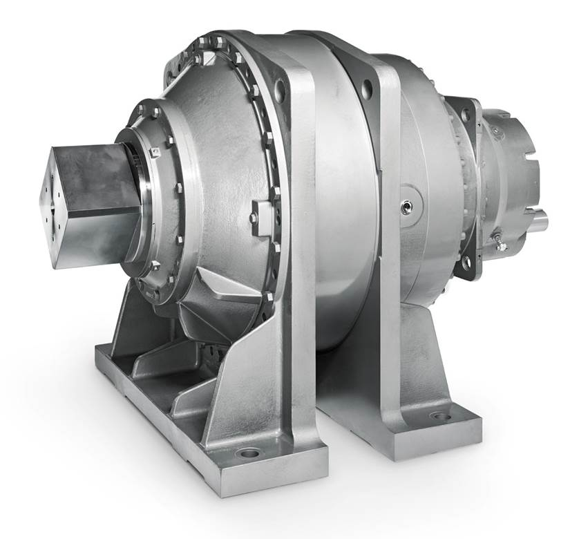 koaxial Getriebe / 3-stufig
