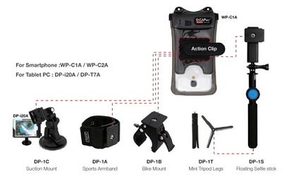 Waterproof Case ACTION SYSTEM_ Digital device waterproof case