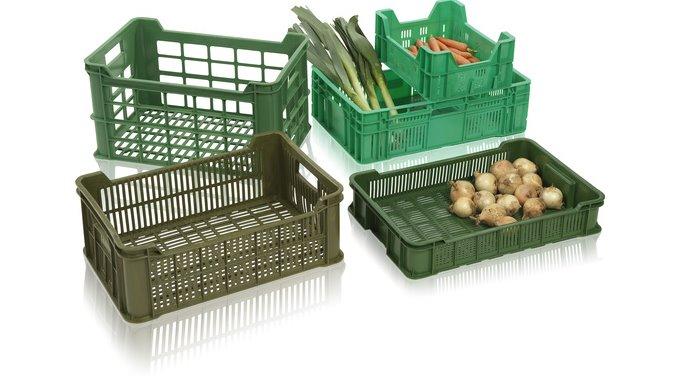 Přepravky na ovoce a zeleninu