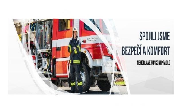 Nehořlavé funkční prádlo pro hasiče