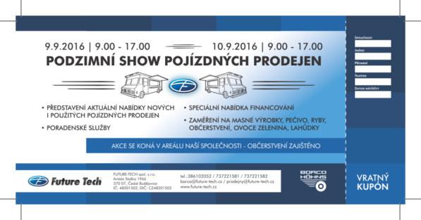 Vážení zákazníci, Vážení obchodní partneři, je nám potěšením Vás opět pozvat do jižních Čech, na dal...