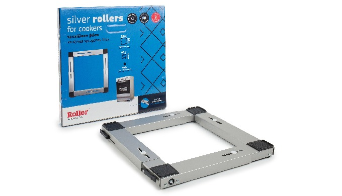 Transportroller Roller for Cooker and Refrigerator - Silver
