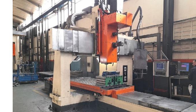 DYE mod. FBF-C-N/C, Nº 1509 Gantry type Milling machine