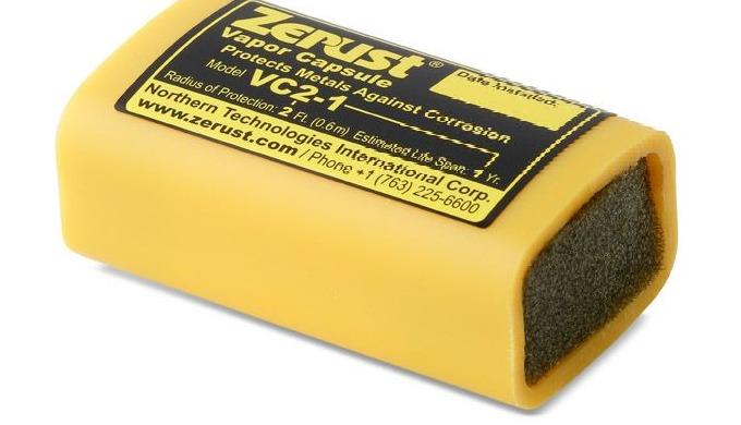 De Zerust VC2 1-dampcapsules zijn draagbare VCI emitter capsules die de Zerust® corrosieremmende tec...