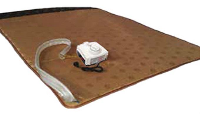 Hot water met for floor