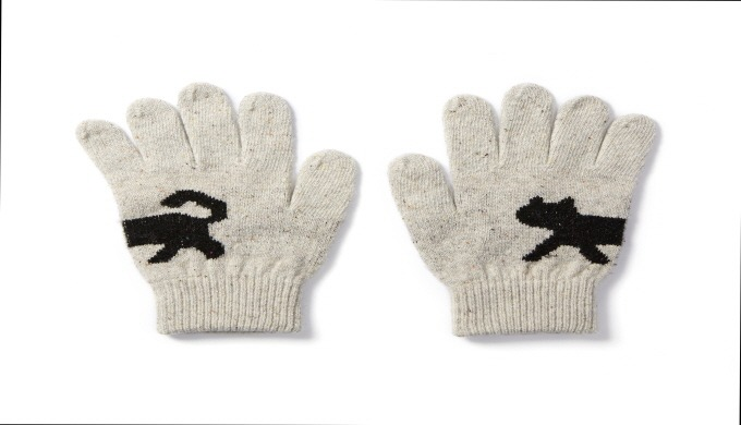 touch gloves (cat) | knit gloves
