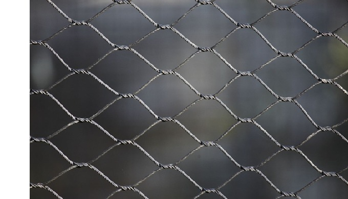 Hand Woven Stainless Steel Wire Rope Netting Product description: Hand woven mesh is a kind of plain...