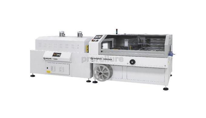 Machine de mise sous film automatique HS500E Smipack Mise sous film industrielle sans air comprimé,u...