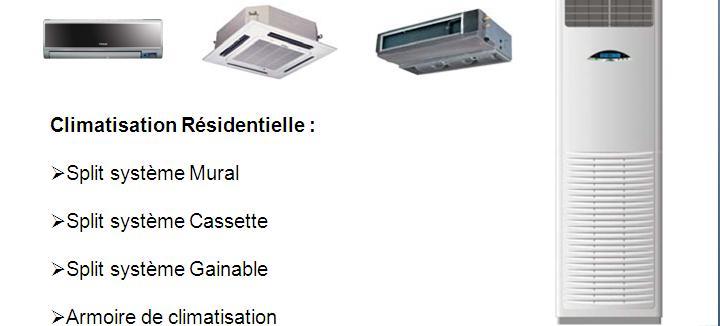 Climatisation Résidentiel