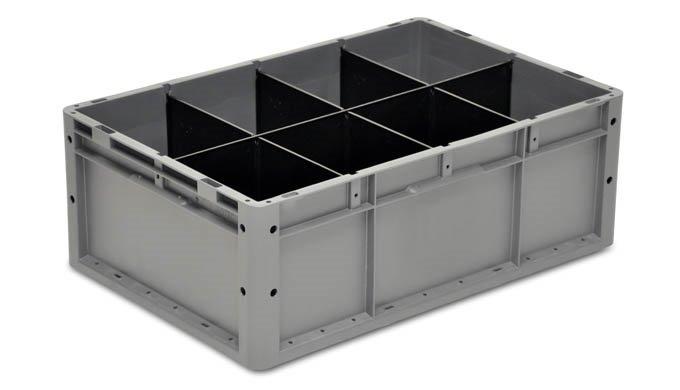 Der Systembehälter EUROTEC eignet sich vorrangig für das automatische Handling auf allen gängigen La...