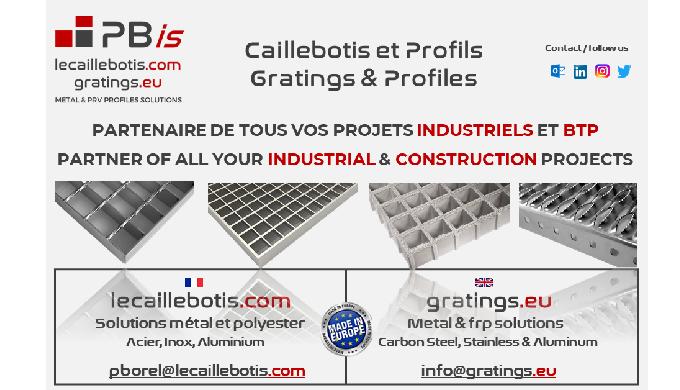 CAILLEBOTIS PRESSE : ACIER, INOX, ALUMINIUM CAILLEBOTIS ELECTROFORGE : ACIER (INOX SUR DEMANDE AVEC ...
