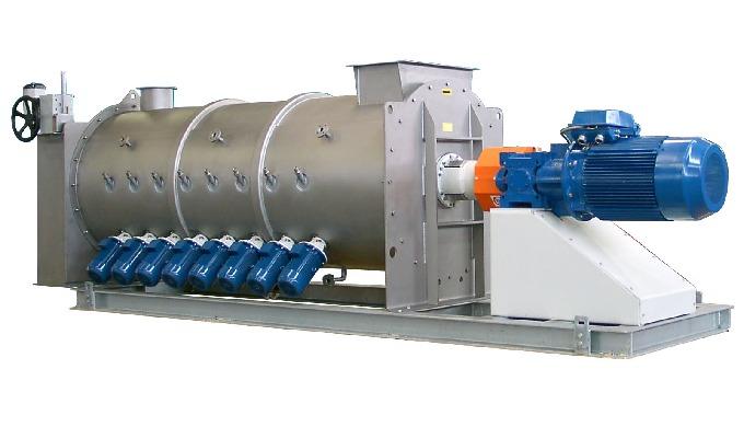 Alliant rapidité, fiabilité et respect des produits, le mélangeur continu mono rotor WAH offre une h...