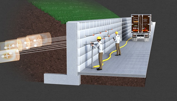 I tiranti di ancoraggio sono elementi strutturali generalmente impiegati per stabilizzare opere di s...