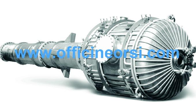 CALDARERIA – reattori, serbatoi, colonne e torce. Diametri fino a 4000 mm e spessori fino a 30 mm.