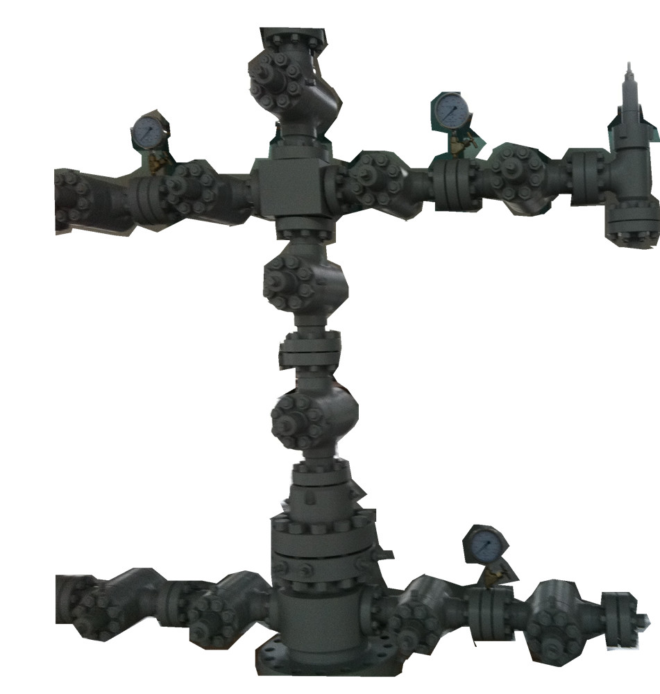 Christmas tree Christmas tree is used for well drilling and oil or gas production, water injection a...
