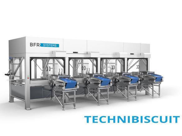 Ilots robots d'assortiment de produits de BFR Systems