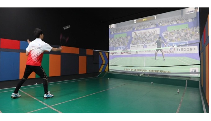 Screen Badminton VR Sports Game - SmashingZon