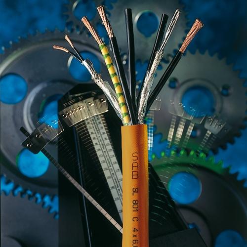 Servoleitungen werden unter anderem für den schnellen Anschluss von computerunterstützten CNC-Maschi...
